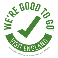 We are good to go Industry standard mark